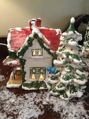 Walter Brockmann WB Snow Village Lighted Ceramic The Victorian House