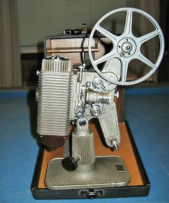Revere Model 85 Movie Projector For 8mm Film In Excellent Condition!!