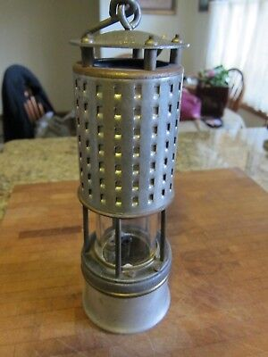 PERMISSIBLE MINERS SAFETY LAMP - NAPHTHA or COLEMAN FUEL - KOEHLER 20A