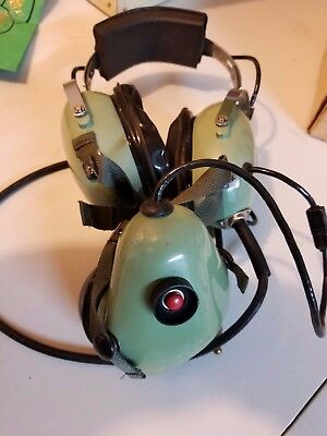 David Clark Sound Powered Headset With Shielded Microphone Model H5010