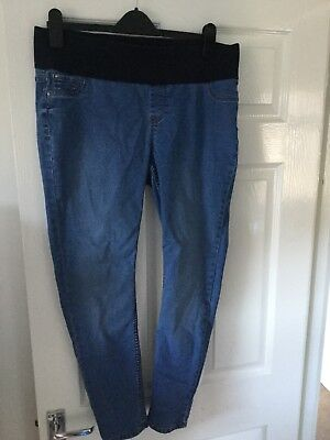 New Look Size 14 Under Bump Maternity Jeggings