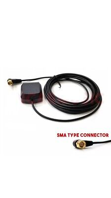 Xtrons GPS Antenna Aerial For Car Stereos Head Units SMA Screw On Connector