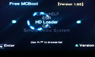 FREE MCBOOT 1 95 Sony PlayStation 2 8MB Memory Card + HD Loader + OPL +  More!