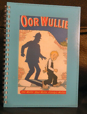 Great: Oor Wullie  :medium Sized Note Book. New & Sealed.