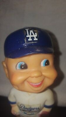 Vintage 1970's Los Angeles Dodgers Baseball Bobblehead Danny Goodman Stadium
