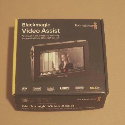 Blackmagic Video Assist  (with EXTRAS) - Lightly Used