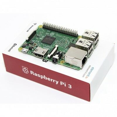 Raspberry pi 3 model b wireless lan 1.2GHz quad core 64Bit 1GB ram /model-2016