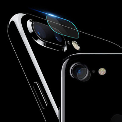0.2mm 9H Camera Lens AGC Tempered Glass Protector for iPhone X 8 / 7 / 7 Plus