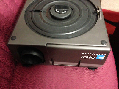 Hasselblad PCP-80 120 MF Slide Projector, Powers Up, Lamp On - Lower Opening Bid