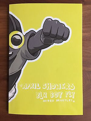 Hebru Brantley April Showers Zine, BLK BOY FLY, Fly Boy, Lil Mama, Run, New Book