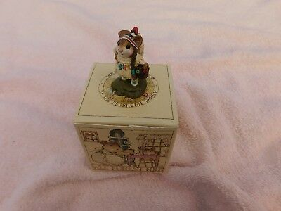 "Wee Forest Folk "" RUNNING DOE & LITTLE DEAR - M-107b - Mint - W/Orig. Box - 1997"