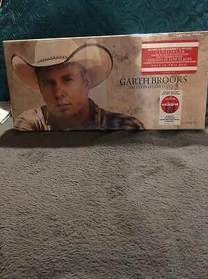 New SEALED Garth Brooks The Ultimate Collection 10-CD Disc Box Set
