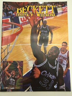 BECKETT BASKETBALL MONTHLY APRIL 1995 #57 Shaquille O'Neal