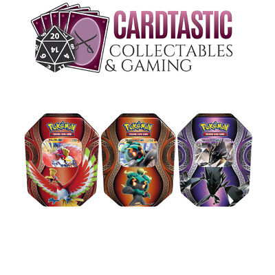 Pokemon TCG Mysterious Powers Tin Set of 3