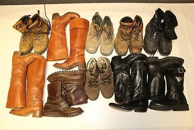 USED REHAB Lot Boots Wholesale Cowboy & Work Red Wing Frye Chisholm cJgG