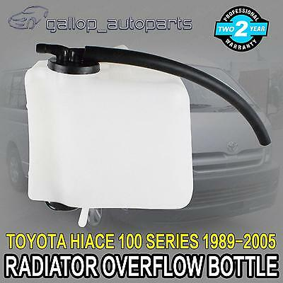 Radiator Overflow Reservoir Toyota Hiace Van 100 Series 89-05 Expansion Bottle