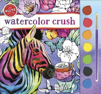 Watercolor Crush (Klutz) by Editors of Klutz   Paperback Book   9781338037562  