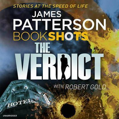 The Verdict: BookShots (A Jon Roscoe Thriller) by Patterson, James | Audio CD Bo