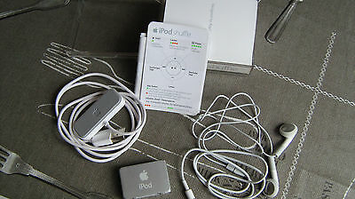 Apple iPod shuffle Silber (1GB) MB225ZD/A MP 3 Player Musik