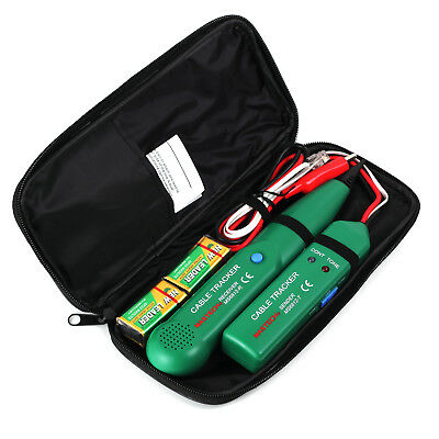 Telephone Line Tracker Cable RJ Toner Tracer Wire Network Cable Tester with Bag