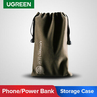 Ugreen Phone Pouch Power Bank Storage Bag Organizer For Data Cable Flash Drive