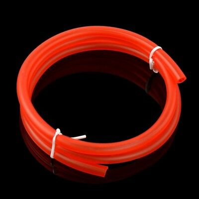 1M Red Motorcycle Fuel Oil Delivery Tube Hose Line Petrol Pipe 5mm I/Dx8mm O/D