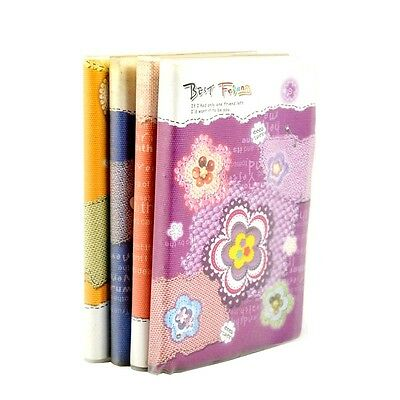 XMAS Gift Lovely Flower Diary Paper Notebook Notepad Memo Pad Note Book