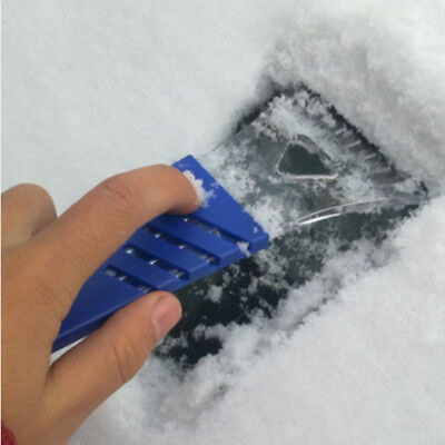 Hot Car Window Cleaning Snow Removal Scraper Metal Windshield Ice Shovel Tool