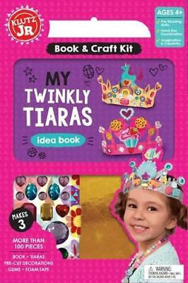 Twinkly Tiaras (Klutz Junior) by Editors of Klutz,   Hardcover Book   9780545932