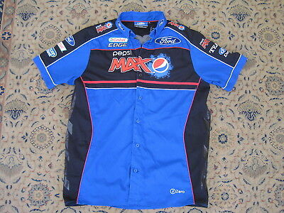 FORD PERFORMANCE MOTOR RACING PESPSI MAX OFFICIAL TEAM MERCHANDISE SHIRT size L