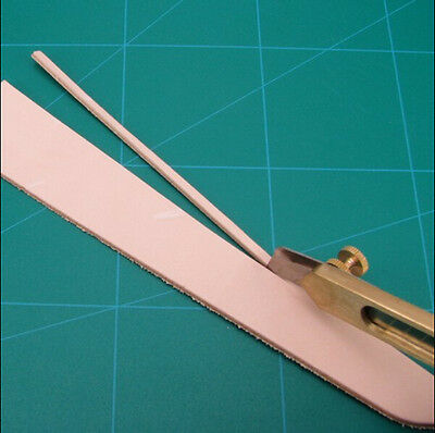 Leather Line Strip Knife Edge Line Knife For Leather Craft DIY Tool Brass