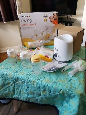 medela swing single electric  breast pump incl extras - can collect in person
