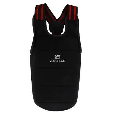 Chest Protector Boxing Body Protective Gear for Competition Training XL