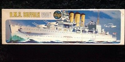 AIRFIX H.M.S SUFFOLK 600 1/600 Scale Model
