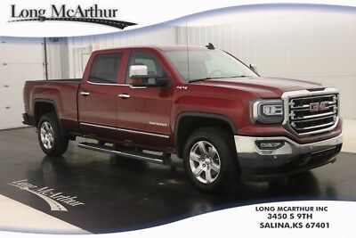 2016 GMC Sierra 1500 SIERRA 1500 SLT 4WD CREW CAB 4X4 ONE OWNER 10K MILES NAVIGATION LEATHER SEAT TINTED GLASS SPRAY IN BEDLINER ONSTAR