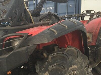 Yamaha Grizzly 550 700 Fender Flares Over Fenders