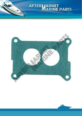 Carb Mounting Gasket for Holley 2BBL, Volvo Penta 3.0L, 4.3L, Repl: 3853283