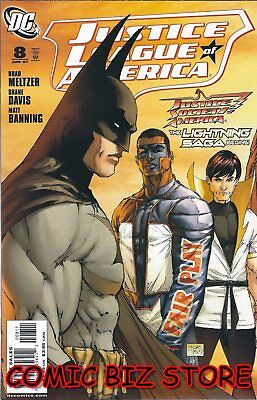 Justice League Of America #8 (2007) 1St Printing Bagged & Boarded Dc Comics