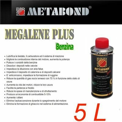 MEGALENE PLUS 5 L PETROL CLEANING SYSTEMS REPLENISHMENT COMBUSTION for CARS