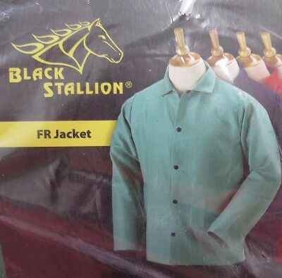 "Revco Black Stallion Flame Resistant 30"" Size XL Welding Jacket NEW F9-30C"