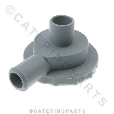 PH01 DISH-WASHER DRAIN PUMP PLASTIC HOUSING HEAD 22mm INLET 22mm OUTLET ANGLED