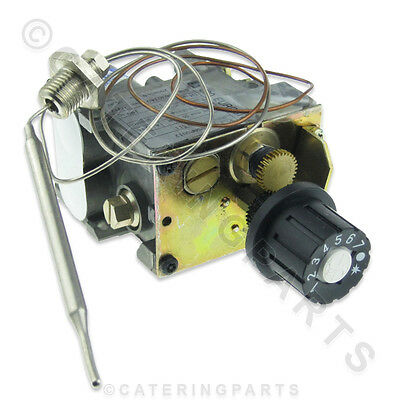 Euro-Sit 0.630.340 Range Fryer Gas Control Valve & Thermostat 110-190°C 0630340
