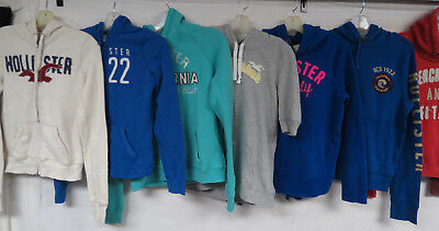 Lot Of 20 Womens Hollister Hooded Sweatshirts Pullovers & Zip Front Hoodies Jr