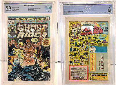 Ghost Rider #2 (1973) - 1st Appearance Daimon Hellstrom, Son of Satan - CBCS 9.0