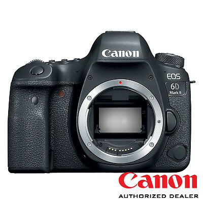 Canon EOS 6D Mark II DSLR Camera Body ***USA AUTHORIZED***