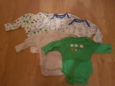 5 x Brand New long sleeve Robot Vests 0-3 months