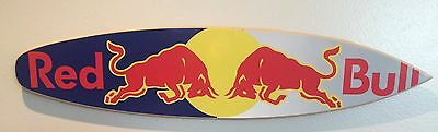 Red Bull Wood Sign
