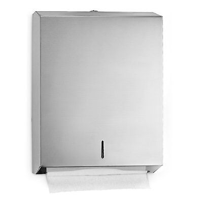 Alpine industries C-Fold/Multifold Paper Towel Dispenser - Brushed Stainless