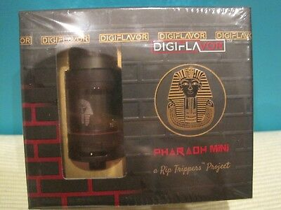 Digiflavor Pharaoh Mini 2ml/5ml in Schwarz  **NEU**