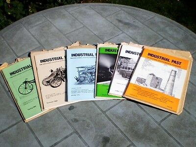 Lot of 6 Industrial Past magazines industrial & transport archaeology1980s